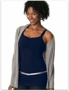 glamour mom nursing tank