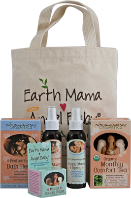 Earth Mama Angel Baby stuff