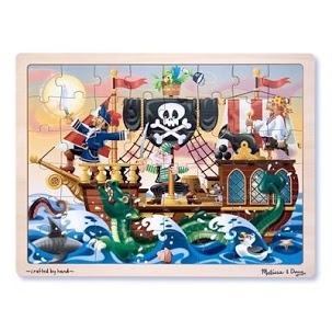 melissa and doug pirate puzzle