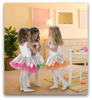 easy ballerina costume