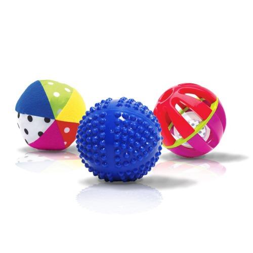 sassy textured balls for baby
