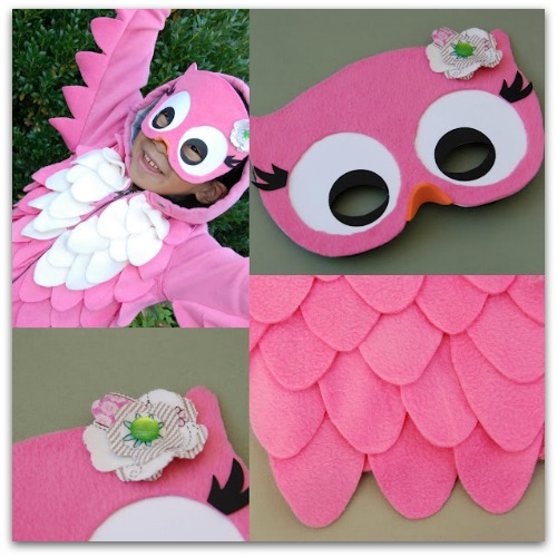 owl costume DIY
