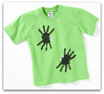 DIY spider shirt