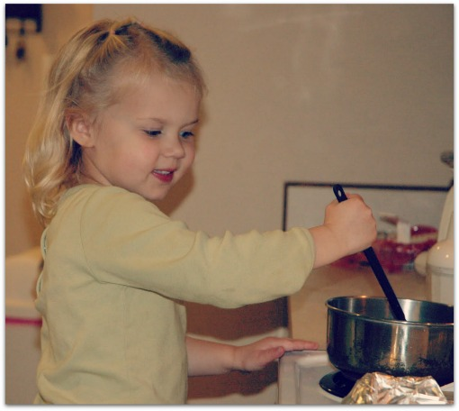 Take these 10 easy tips to get your young children in the kitchen. They'll be cooking alongside you in no time, and move on to cooking by themselves!