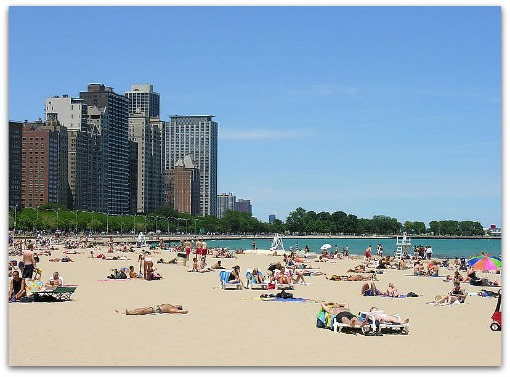 Lake Michigan Beach Chicago