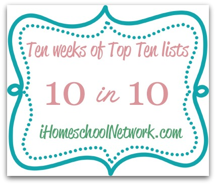 10 in 10 Series iHomeschool Netwrok 