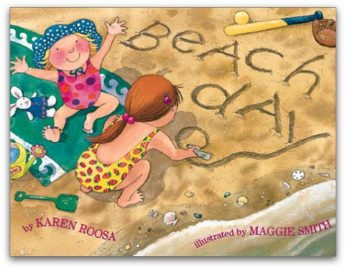 beach books for preschool