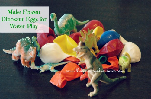 frozen dinosaur eggs for water play