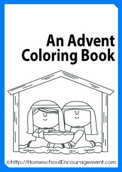 20 amazingly simple catholic advent crafts for kids for Printable advent coloring pages
