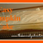 easy pumpkin cake