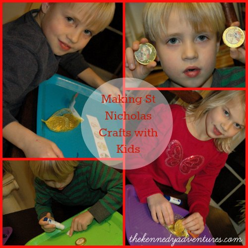 saint Nicholas Crafts with Kids
