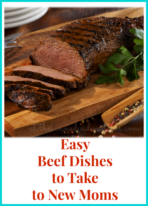 easy beef dishes to take to new moms