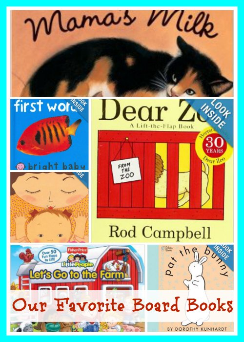 favorite board books for babies and toddlers