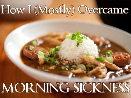 curing morning sickness