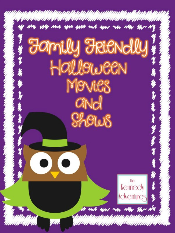 Family Friendly Halloween Movies and Shows