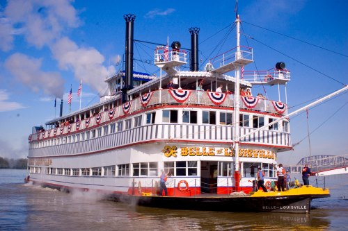 louisville staycation ideas Belle of Louisville