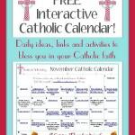 Catholic Family Calendar November