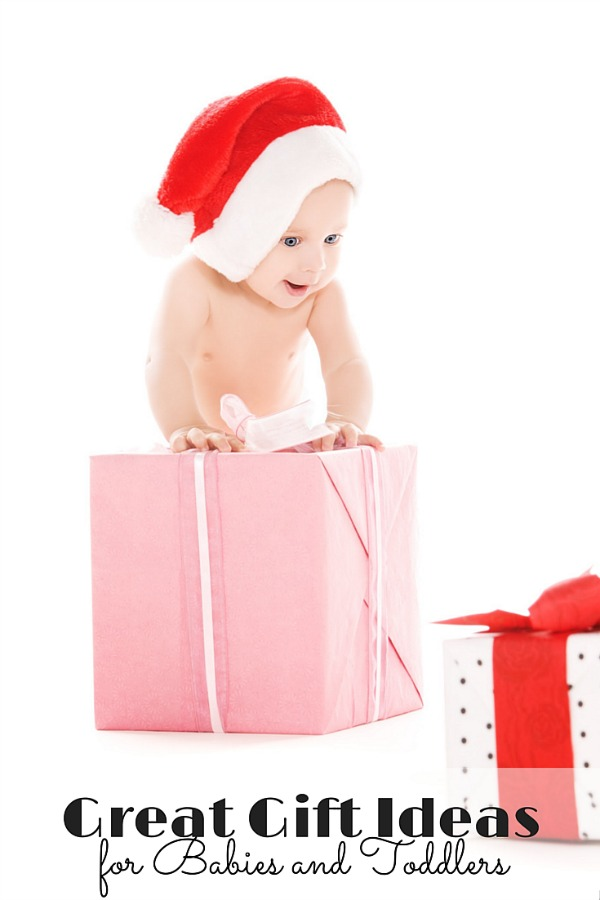 great gift ideas for babies and toddlers -- over 40 ideas to get you started!