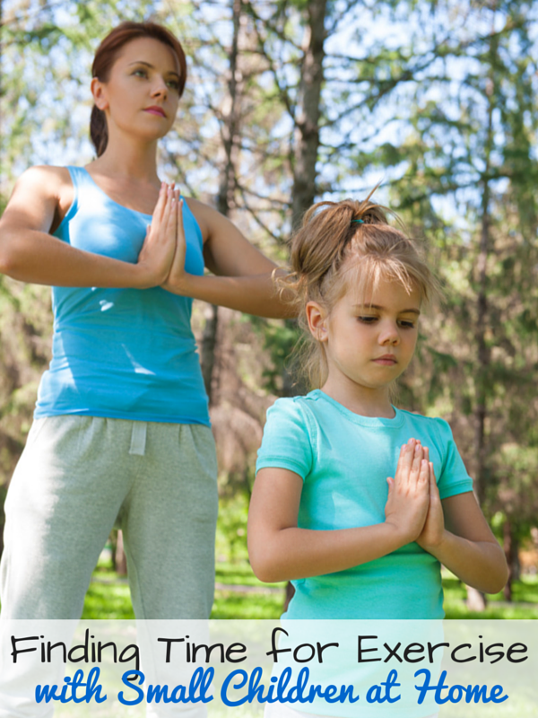Making Time for Exercise with Many Small Children at Home