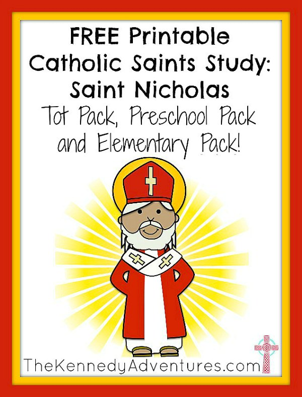 saint nicholas printables for children - Children Printables