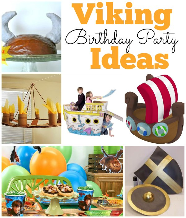 Viking Party Ideas Viking Birthday Party Ideas