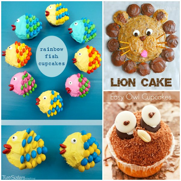 More fun birthday party cake ideas for kids for Animal cake decoration ideas