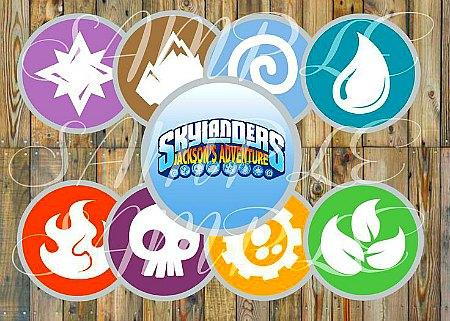 Skylanders party decor