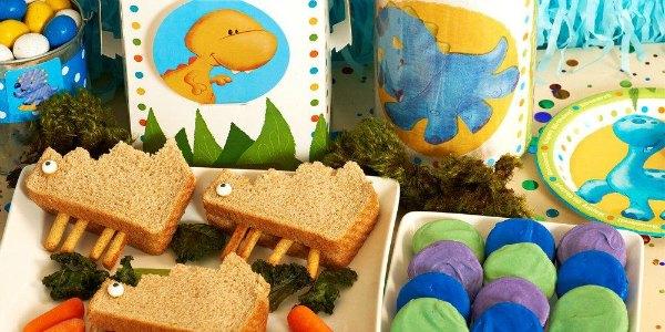Food Ideas For A Dinosaur Birthday Party