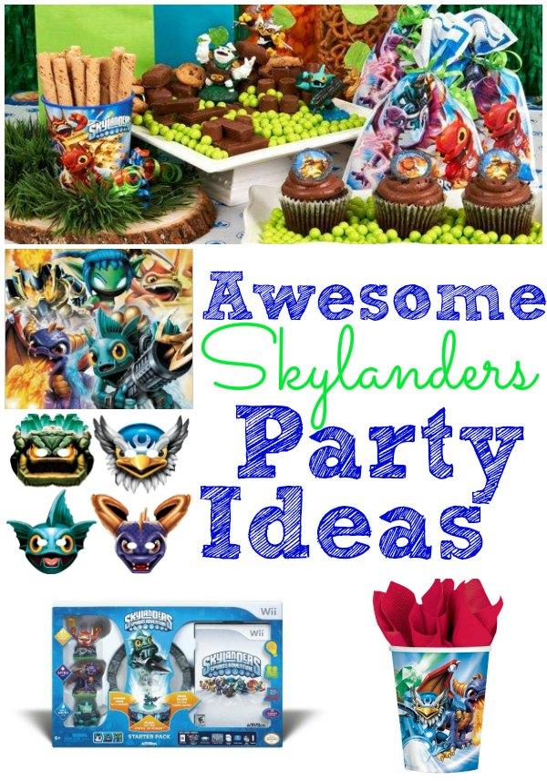 skylanders party ideas