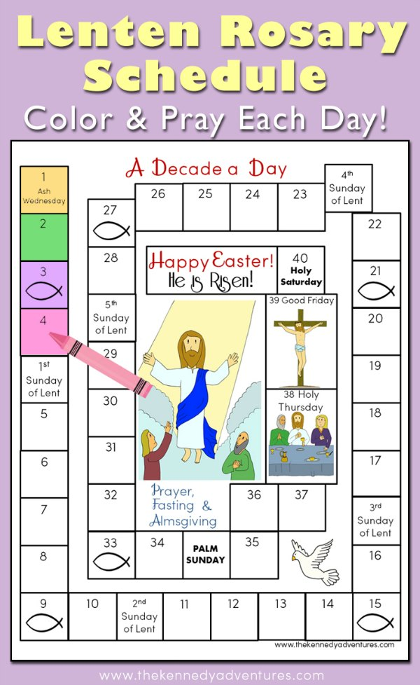My Lenten Prayer Challenge – A Decade a Day