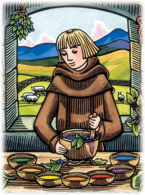 catholic picture books monasticism