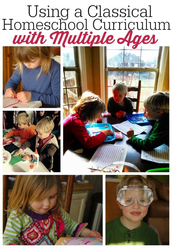 Using A Classical Homeschool Education with Multiple Ages