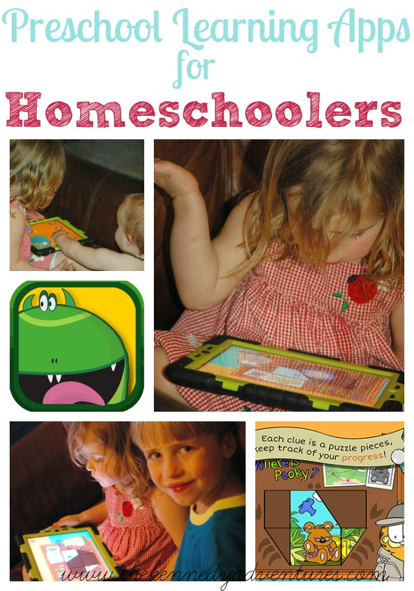 preschool learning apps for homeschoolers