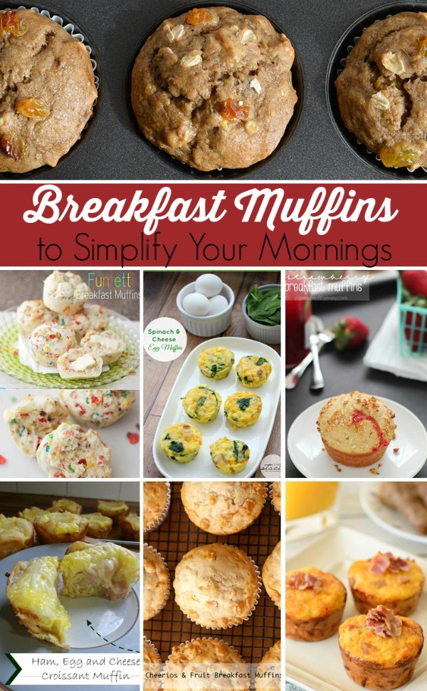 breakfast muffin recipes for easier mornings