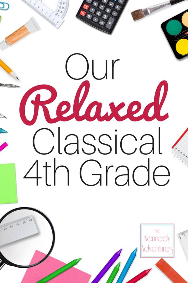 4th grade classical curriculum