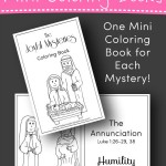 Rosary Coloring Books