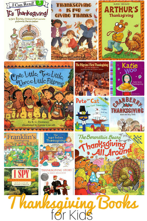 Thanksgiving Books and Movies for Kids