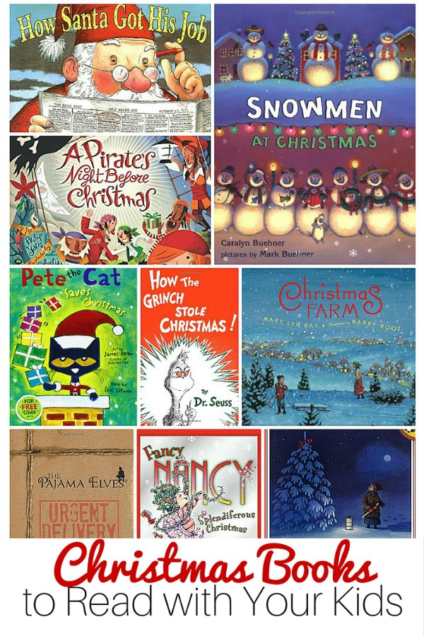Christmas Books for Kids and Families