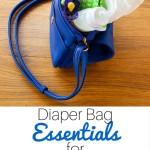 Diaper Bag Essentials #myhuggiesbaby