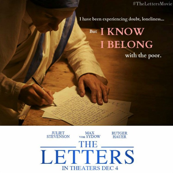 Learning More About Mother Teresa with The Letters Movie