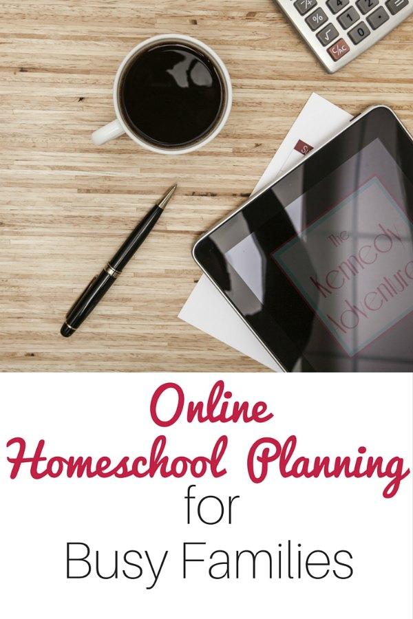 online homeschool planner