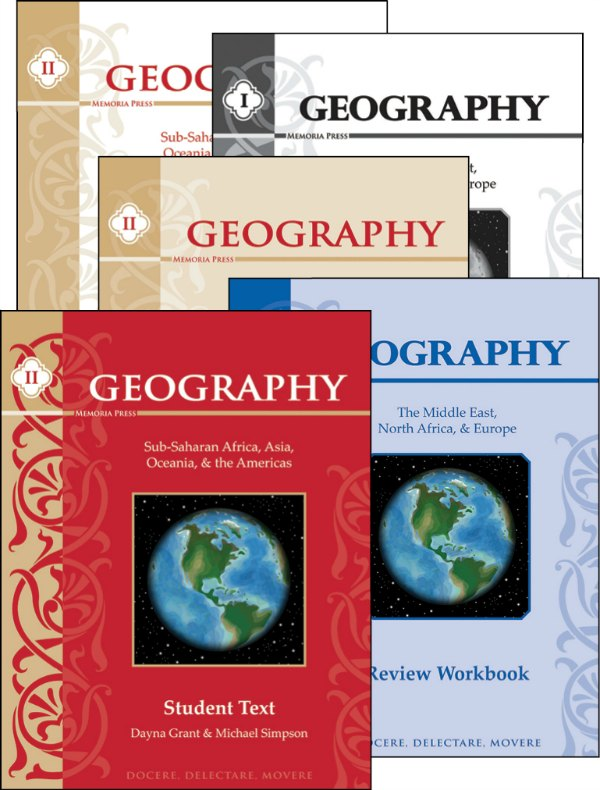 Geography for a classical homeschool curriculum from Memoria Press