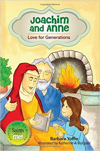 Catholic Saints Books for July - St Anne