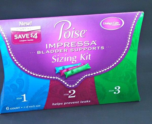 poise impressa bladder supports #SeizeYourPoiseMoment