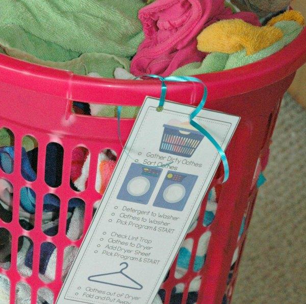 teach your tween laundry #freetobe