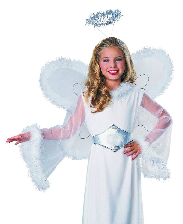 Angel Costume and more -- super simple, easy costumes for All Saints Day