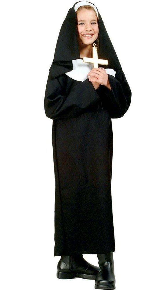 Nun costumes and more for All Saints Day - don't miss these super easy ideas for Catholic celebrations!