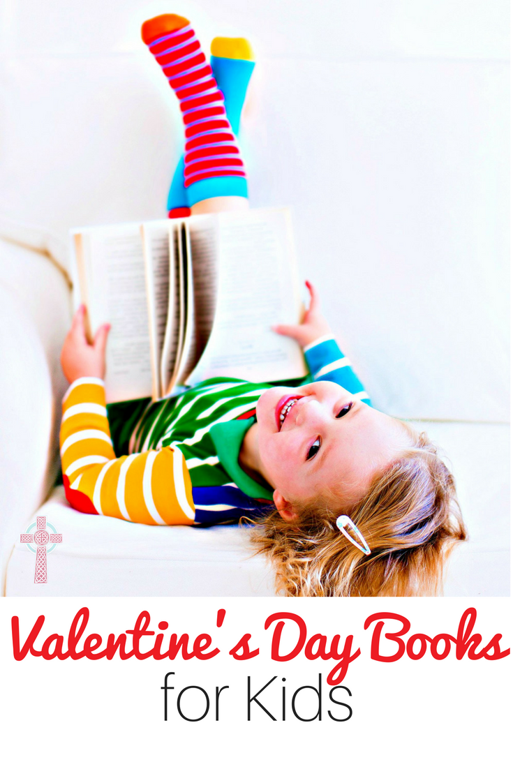 Valentine's Day books for children - great for homeschool read aloud time!