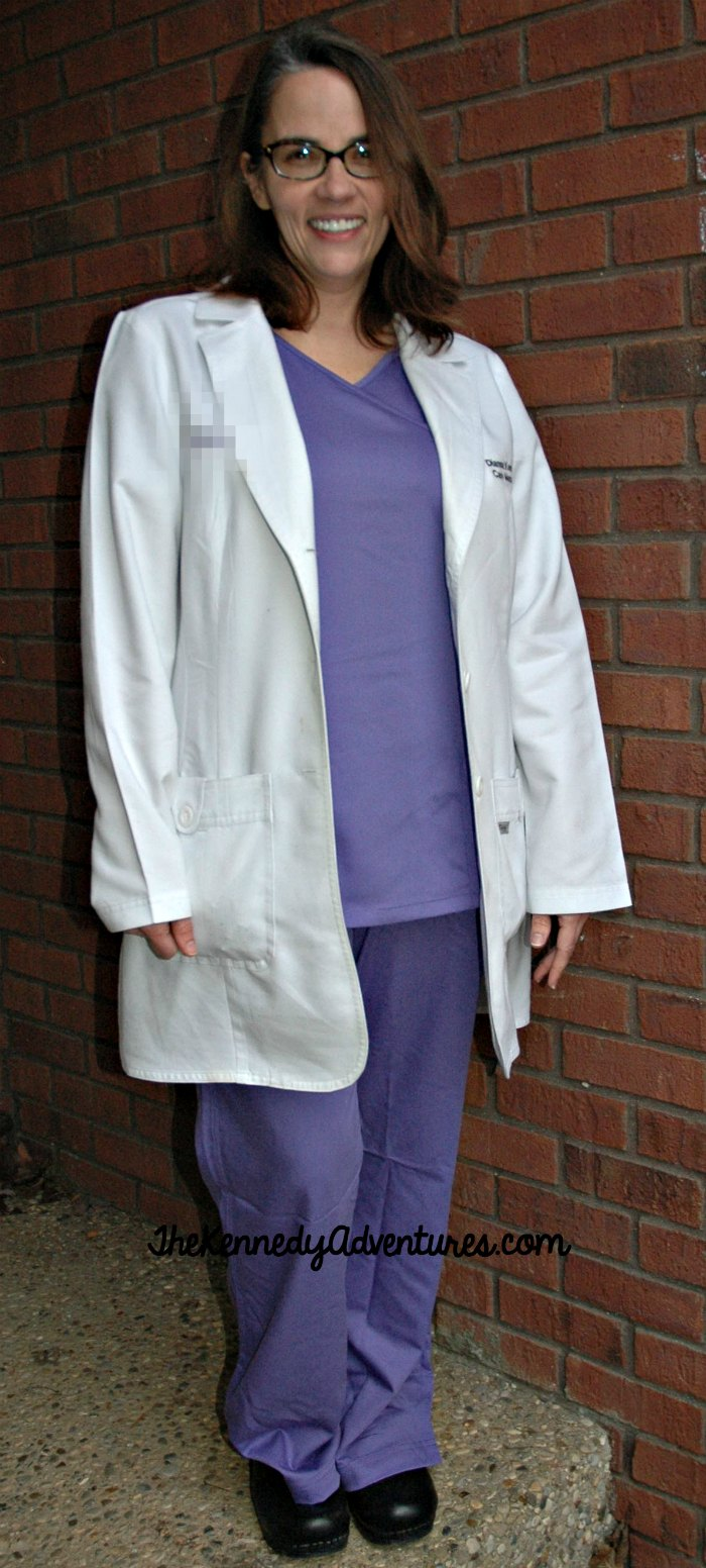 Nurses always need new scrubs! These Urbane scrubs from Landau keep you looking polished and professional. #ScrubLove