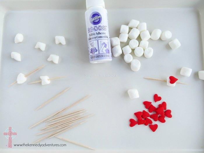 Add a fun twist to Rice Krispie treats with Valentine's Day Treat arrows!